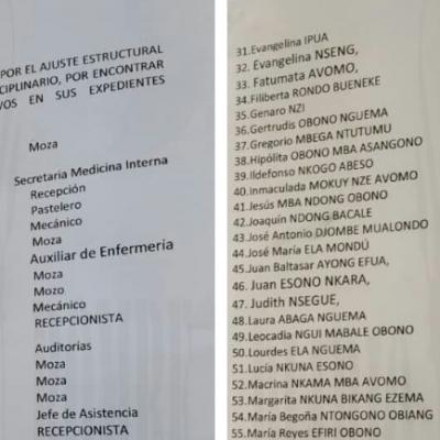 Centro Médico La Paz de Bata despide a 80 empleados ecuatoguineanos y prioriza a profesionales extranjeros