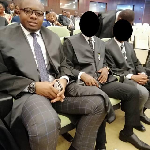 Juez de Primera Instancia del Juzgado nº2 de Malabo, don Agustín Ndong Ndong Bibang