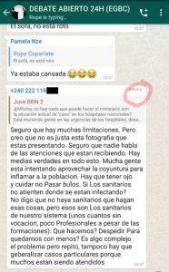 El Viceministro de Sanidad se sincera sobre el COVID-19 en un foro de Whatsapp