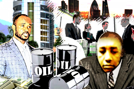 Michael Orji, the nigerian journalist who controls Antonio Oburu company in London
