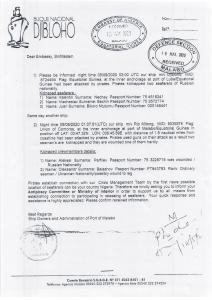 Un informe confidencial de la Embajada de Nigeria en Malabo detalla el rescate de los marineros secuestrados