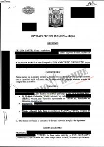 """El entonces ministro de industria, Marcelino Owono Edu compró un adosado en Madrid para una de sus """"mujeres"""""""