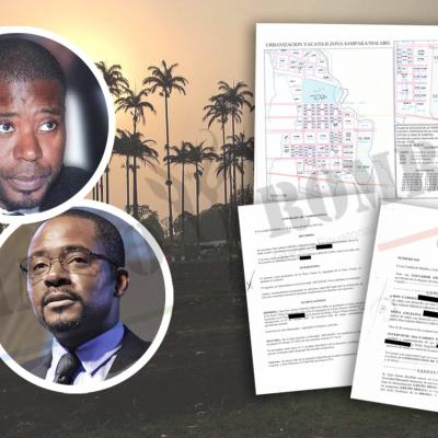 Finca Yacato II: El Ministro Gabriel Obiang  pagó a su hermano Alberto Obiang 147 millones por la finca de Sampaka
