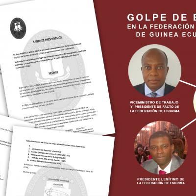 """""""Golpe de Estado» encubierto en la Federación de Esgrima de Guinea Ecuatorial"""