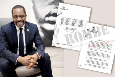 Gabriel Obiang viola la incompatibilidad dictada por el instrumento de derecho mercantil Internacional