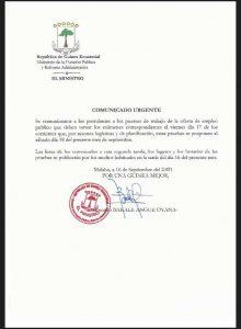 """El concurso de oposición a la administración pública de """"Teodorin"""" deja en ridículo al gobierno"""